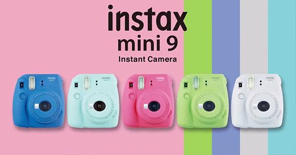 Fujifilm-Instax-Mini-9 couleurs
