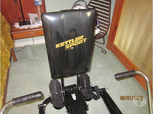Kettler Sport Rameur Muscu Maison