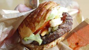 チーズバンズに海老に辛口ソース!! 好きなもの全部盛りバーガーが爆誕したので食べる!! #バーガーキング