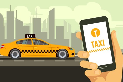 app based booking options like uber