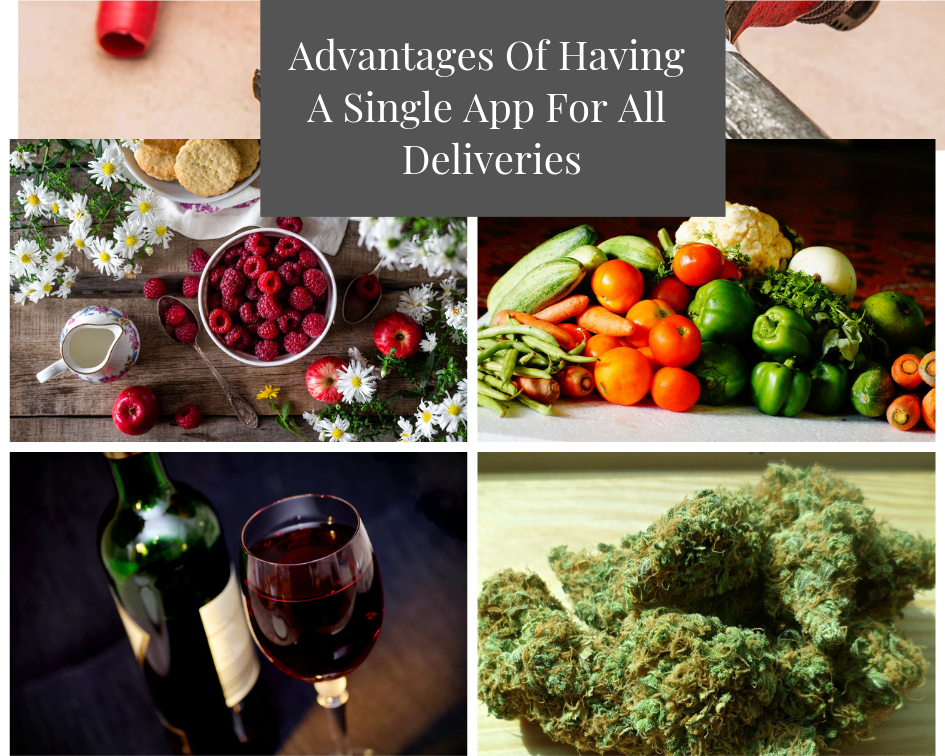 Advantages of having a Single App for all Delivery Services