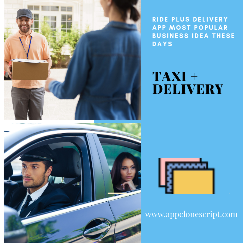 Taxi with delivery