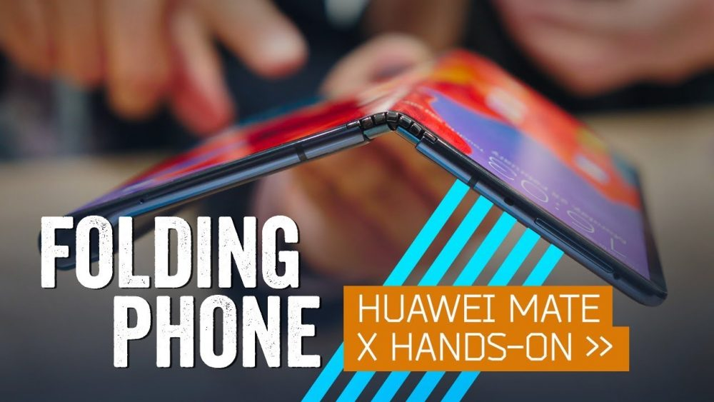 Huawei Mate X Hands-On: The Folding Phone Is The Future