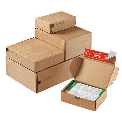 white postage boxes