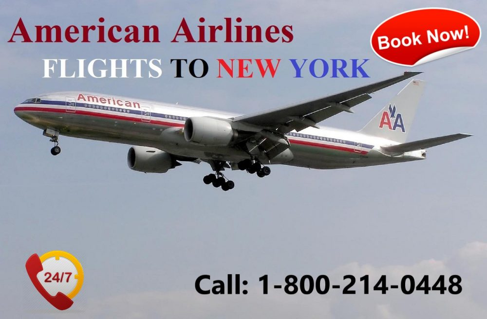 How to Book American Airlines Flights to New York?