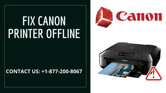 Here's A Quick Way To Solve The Canon Printer Offline Problems