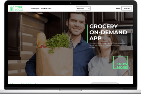 On Demand Grocery App