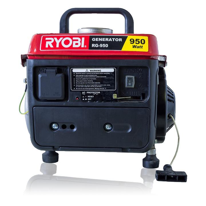 Working Of Furnace through Portable Generator