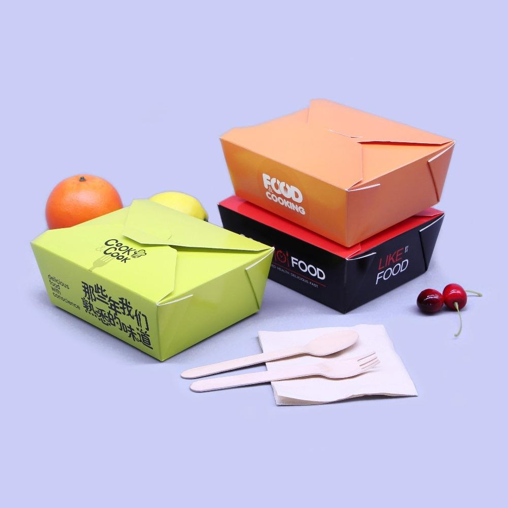 5 Different Types Of Custom Printed Food Boxes
