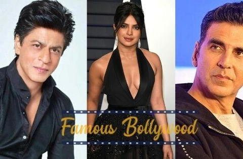 Famous Bollywood actors and actresses