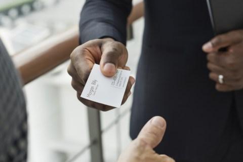 business card make