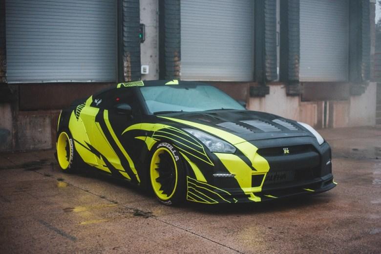 custom paint designs for car