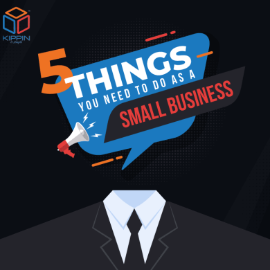 5 Things You Need To Do As A Small Business – Infographic