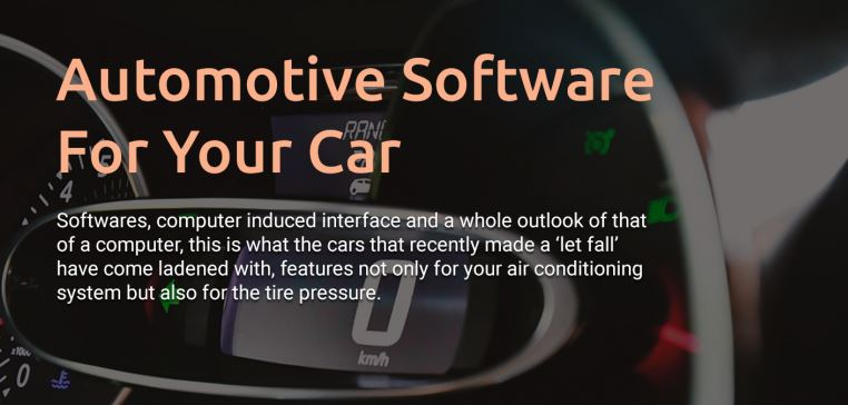 Different Types Of Automotive Software For Your Car