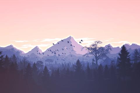 unique mountain