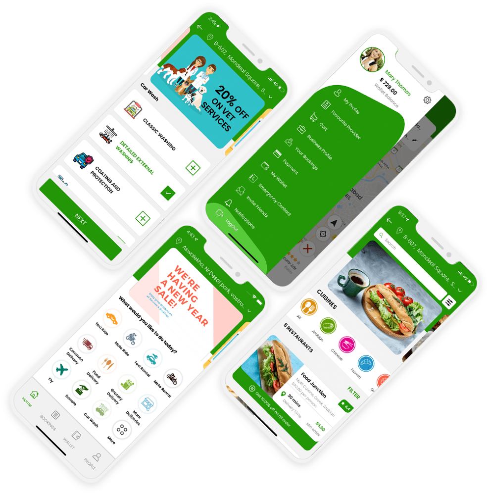 Gojek Clone App – Expand Your Multi-services Business Without Spending Extra