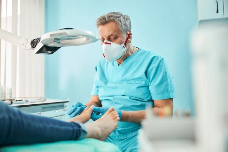 visit a podiatrist before it's too late