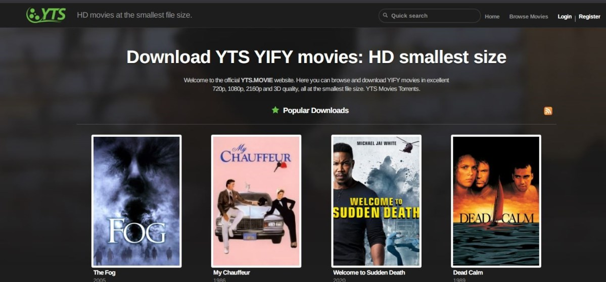 Insights on YTS Movies Proxy Sites and Alternatives