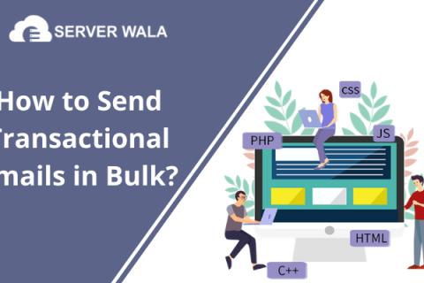 bulk email SMTP server