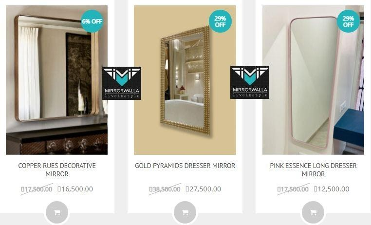 How to find and buy drawing room mirrors?