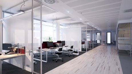 office partition system material