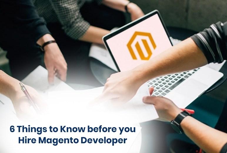 hire a Magento developer