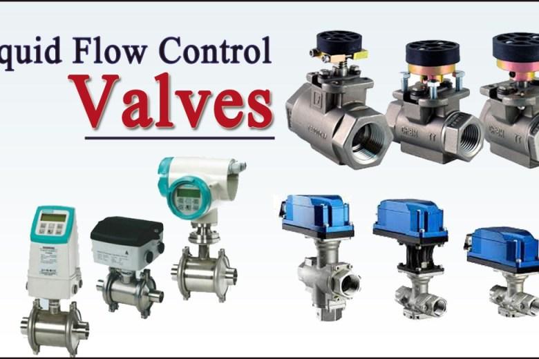 liquid flow control valve
