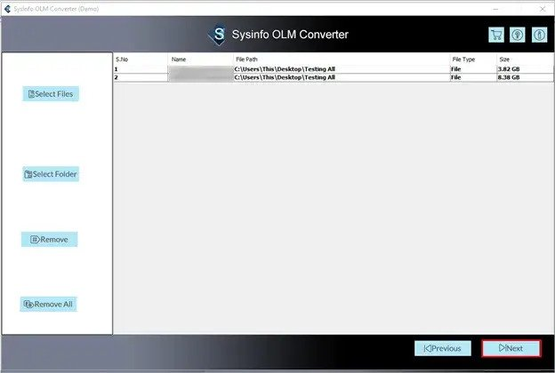 OLM to PST Converter Tool.