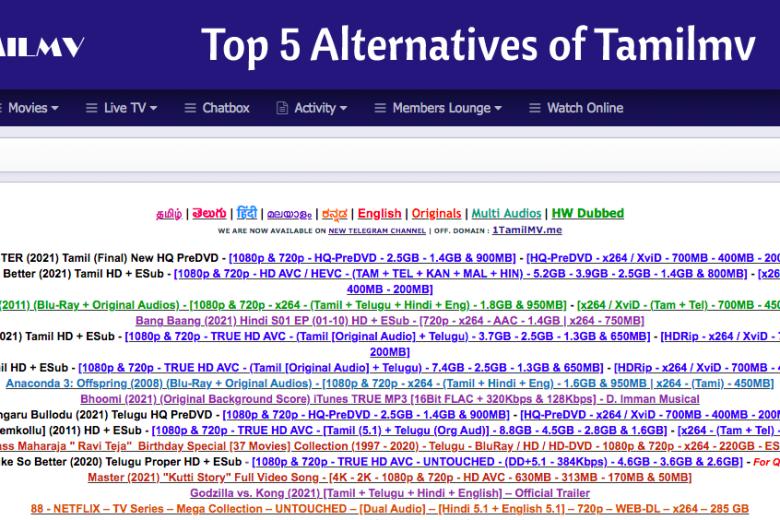 alternative websites for tamilmv