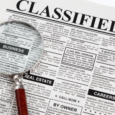 classified ads site