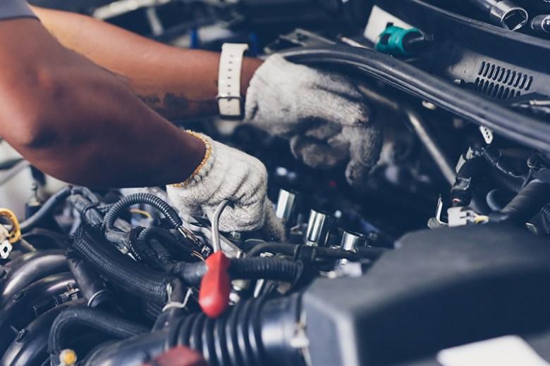 oil cooler pipe repair
