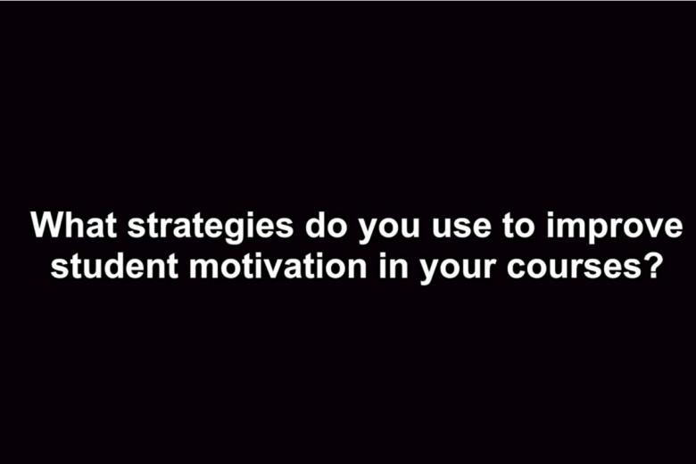 student motivation strategies