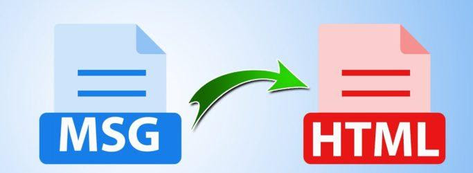 The Best way to Convert MSG to HTML File Professionally