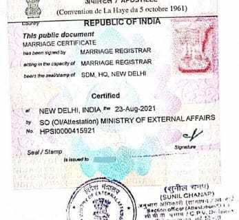 degree certificate attestation procedure