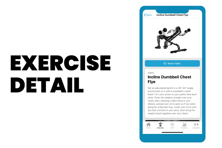 PHAT App Exercise Details