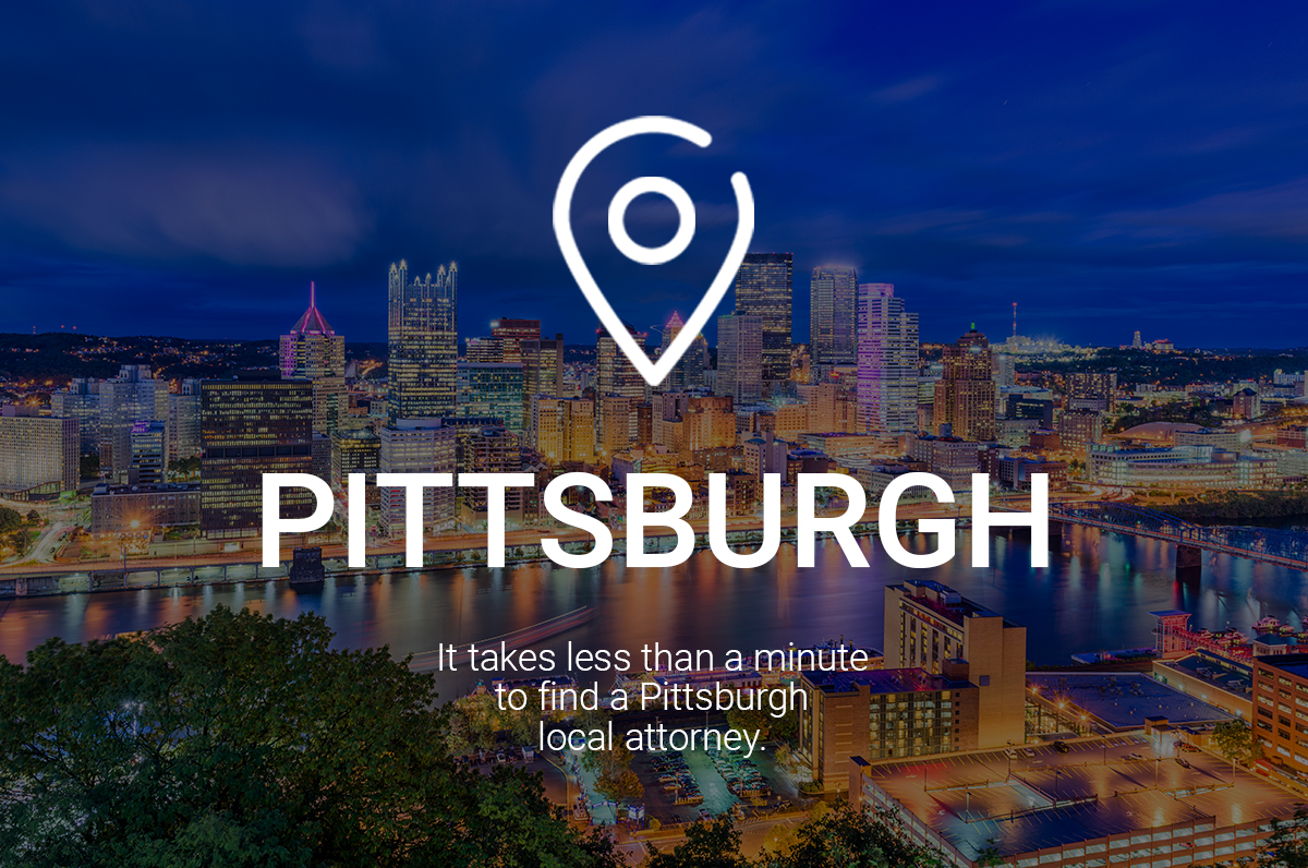 It Takes Less Than a Minute to Find a Pittsburgh Local Attorney
