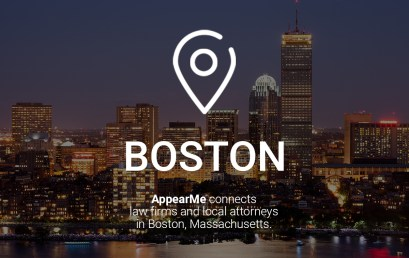 AppearMe Connects Law Firms and Local Attorneys in Boston