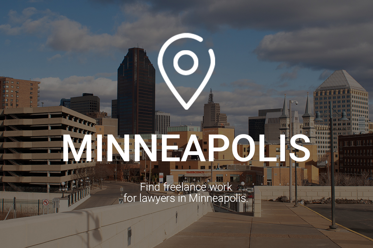 Find Freelance Work for Lawyers in Minneapolis