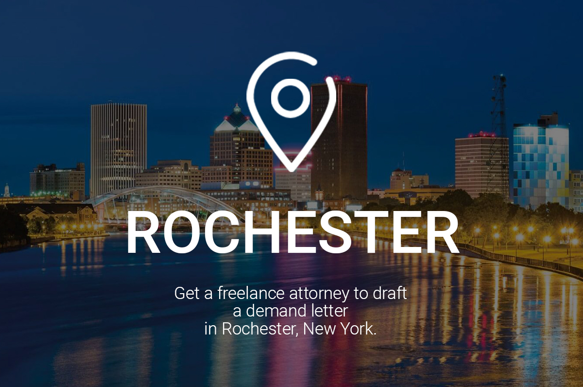 Get a Freelance Attorney to Draft a Demand Letter in Rochester