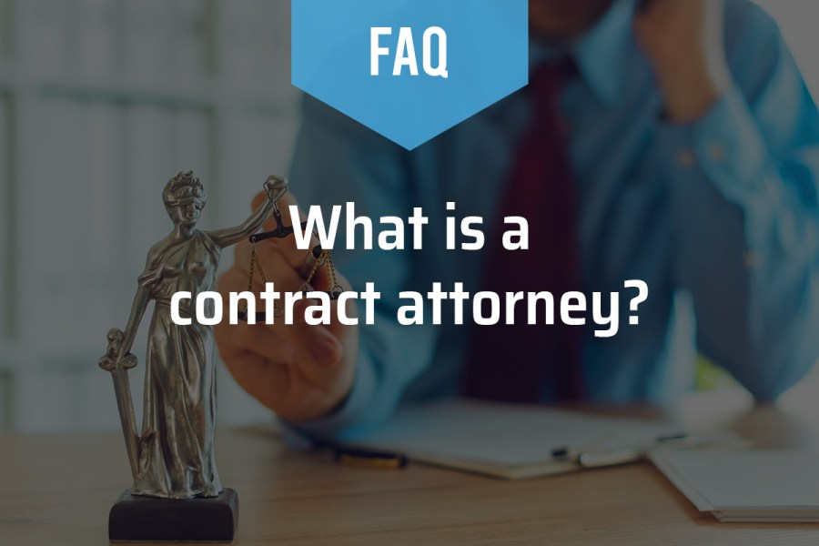 What is a Contract Attorney?