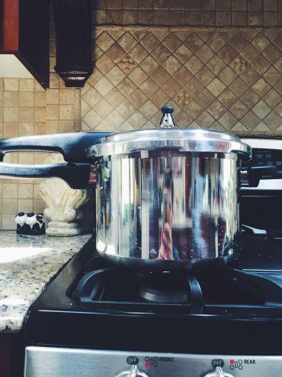 The big, bad, terrifying pressure cooker!
