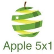 Logo Apple 5x1