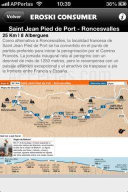 Información Rutas del camino de Santiago