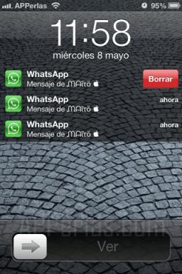 Gestiona las notificaciones de iPhone en la pantalla de bloqueo