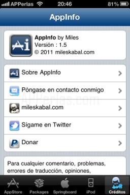 Appinfo