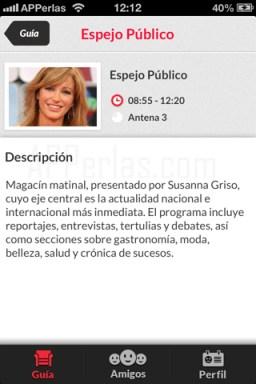 Info app para tv