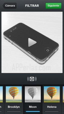 Filtros para vídeo en instagram