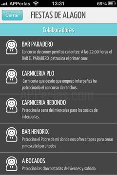 Colaboradores de las fiestas de España
