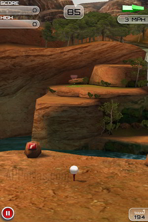 juego de golf para iPad