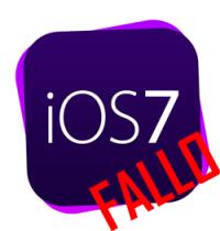 fallo iOS 7 en iphone 4